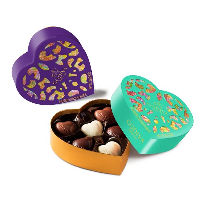 Coeur iconique LTD ED金裝巧克力心形禮盒
