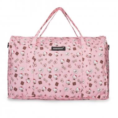 murmurmurmur Hello Kitty 粉紅收納旅行袋 (大)
