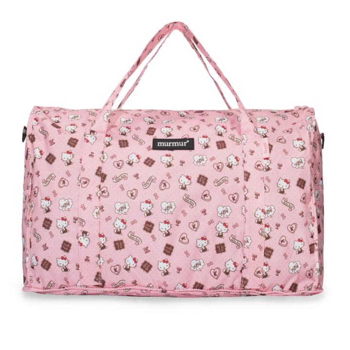 Hello Kitty 粉紅收納旅行袋 (大)