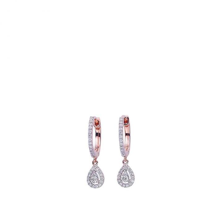 FUN DIAMOND EARRINGS綻FUN 鑽石耳環