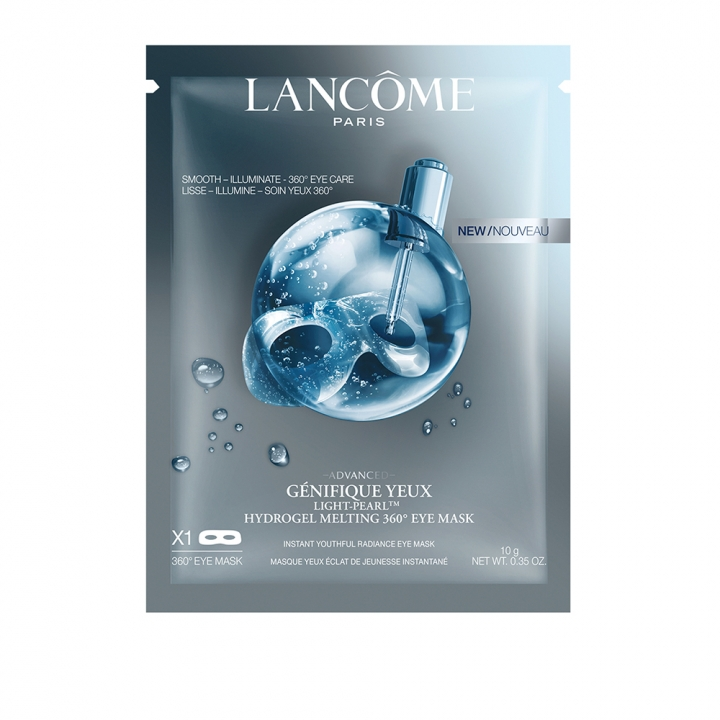 LANCOME ADVANCED GENIFIQUE YEUX LIGHT PEARL HYDROGEL MELTING 360 EYE MASK超進化亮眼精粹眼膜