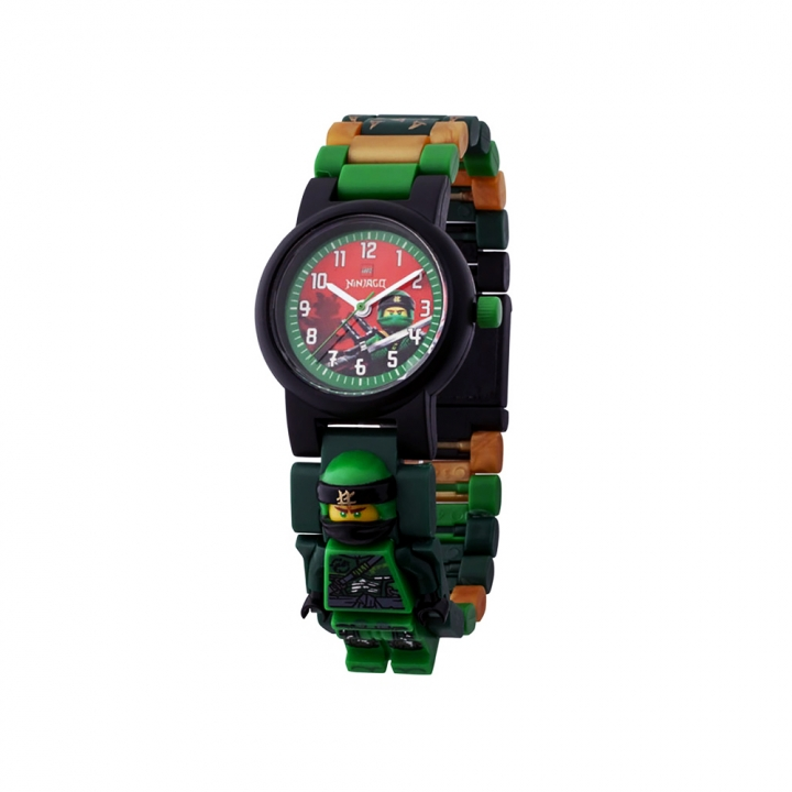 LEGO  NINJAGO  Lloyd Minifigure Link Buildable Watch樂高 手錶 綠忍者/勞埃德
