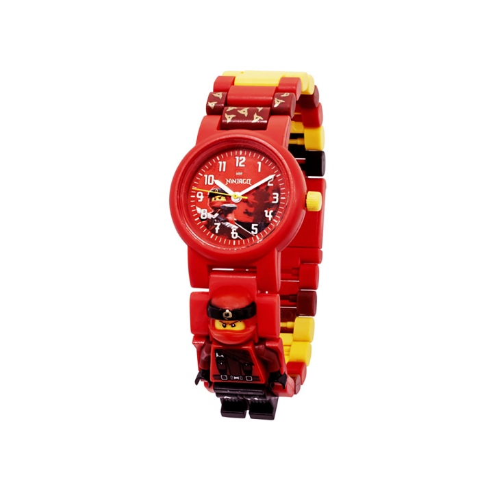 LEGO  NINJAGO  Kai Minifigure Link Buildable Watch樂高 手錶 紅忍者/凱
