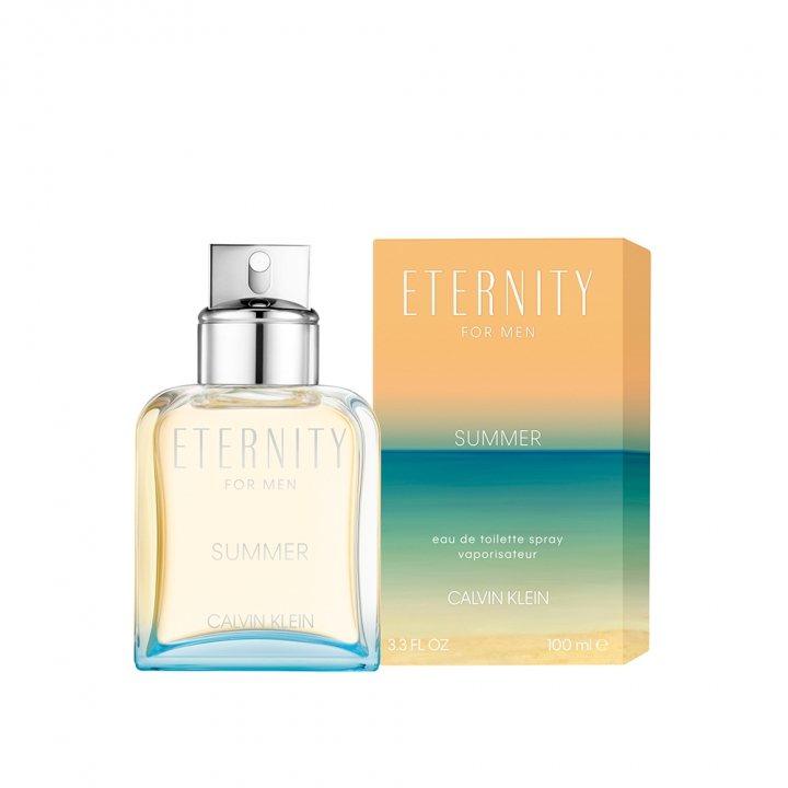 Calvin Klein ETERNITY Summer Edition Eau de Toilette for him永恆夏日限定版男性淡香水