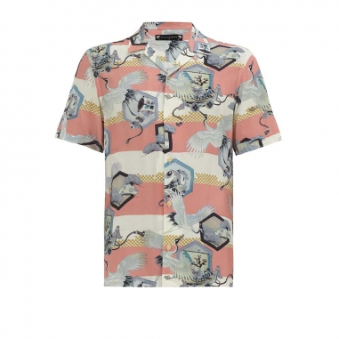 AllSaints歐聖 SHIELD襯衫