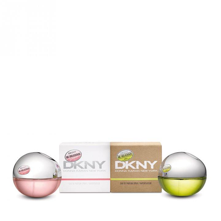 DKNYDKNY 綠蘋果和粉戀蘋果女士香氛2支裝特惠組