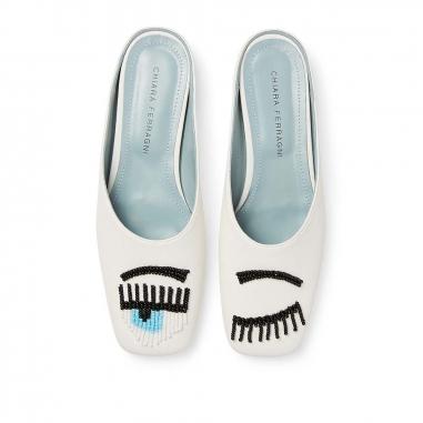 CHIARA FERRAGNICHIARA FERRAGNI FLIRTING穆勒鞋