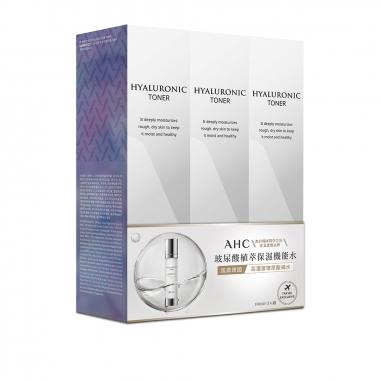AHCAHC 玻尿酸植萃保濕機能水3入特惠組