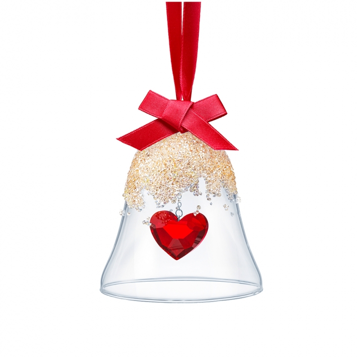 CHRISTMAS BELL ORNAMENT, HEART《聖誕限定》愛心聖誕鈴吊飾