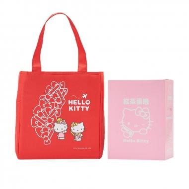Hello KittyHello Kitty Hello Kitty 台灣地圖 好姐妹紅茶蛋捲提袋組
