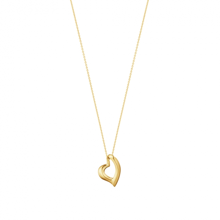 Hearts of Georg Jensen 18K Yellow Gold PendantHearts of Georg Jensen 18K黃金鍊墜