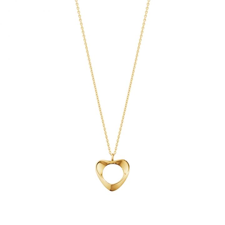 Hearts of Georg Jensen 18K Yellow Gold PendantHearts of Georg Jensen 18K黃金鍊墜