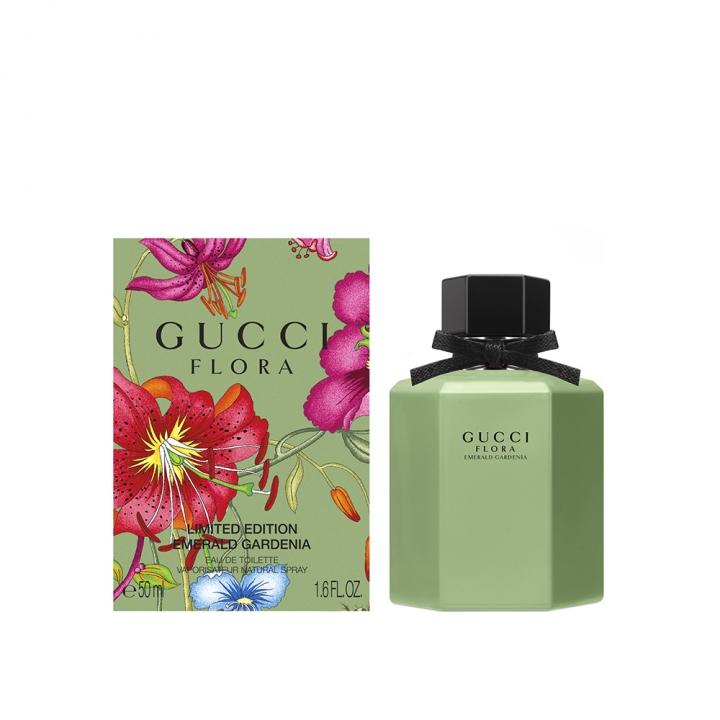 Gucci Flora Emerald Gardenia EDT絢麗梔子花淡香水限量版