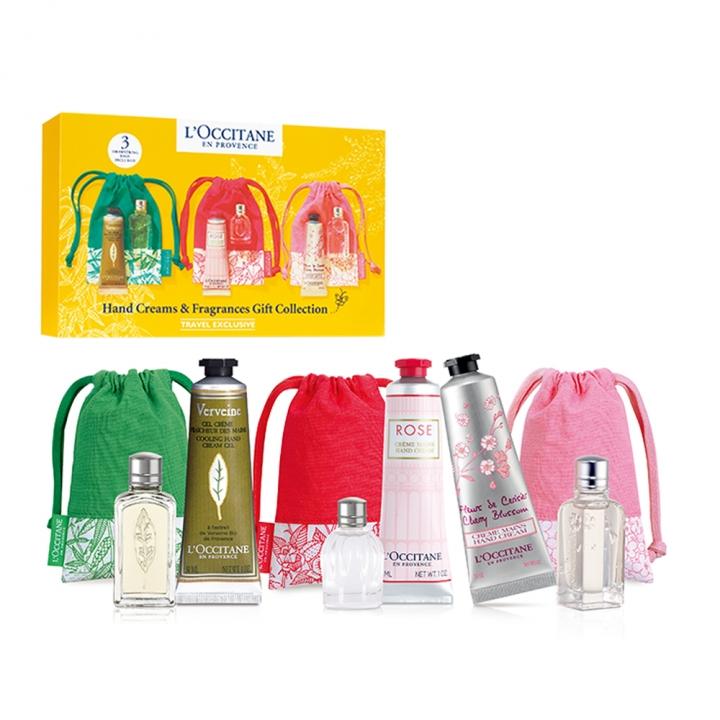 HAND CREAMS & FRAGRANCES GIFT COLLECTION護手霜及香氛禮盒套裝特惠組