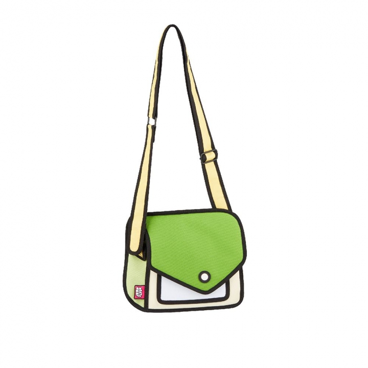 Giggle Shoulder Bag Greenery草木綠嘻嘻包
