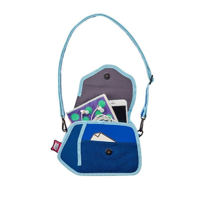 Clicky Shoulder Bag Aqua Sky喀嚓包天 藍色