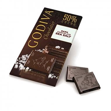 GodivaGodiva 50% 海鹽黑巧克力磚