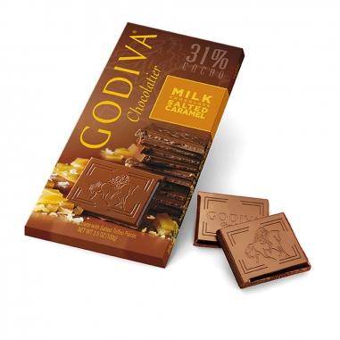 GodivaGodiva 焦糖海鹽牛奶巧克力磚