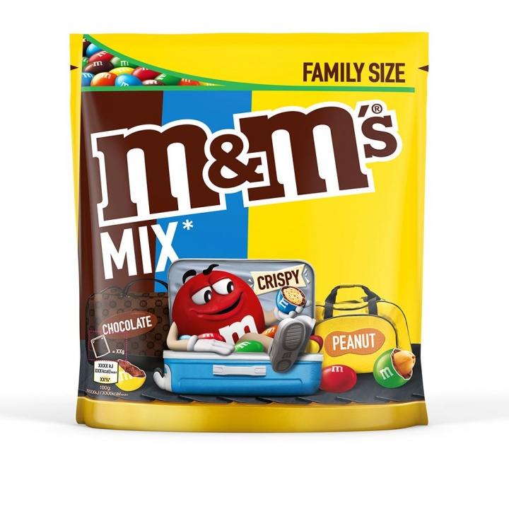 M&M'S MIX POUCH綜合巧克力家庭包