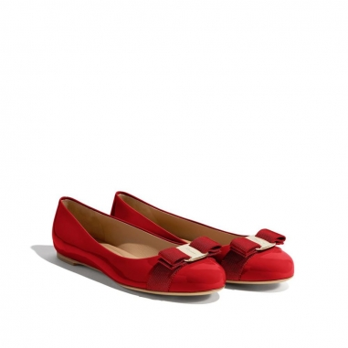 Salvatore Ferragamo費拉格慕 VARA FAMILY平底鞋