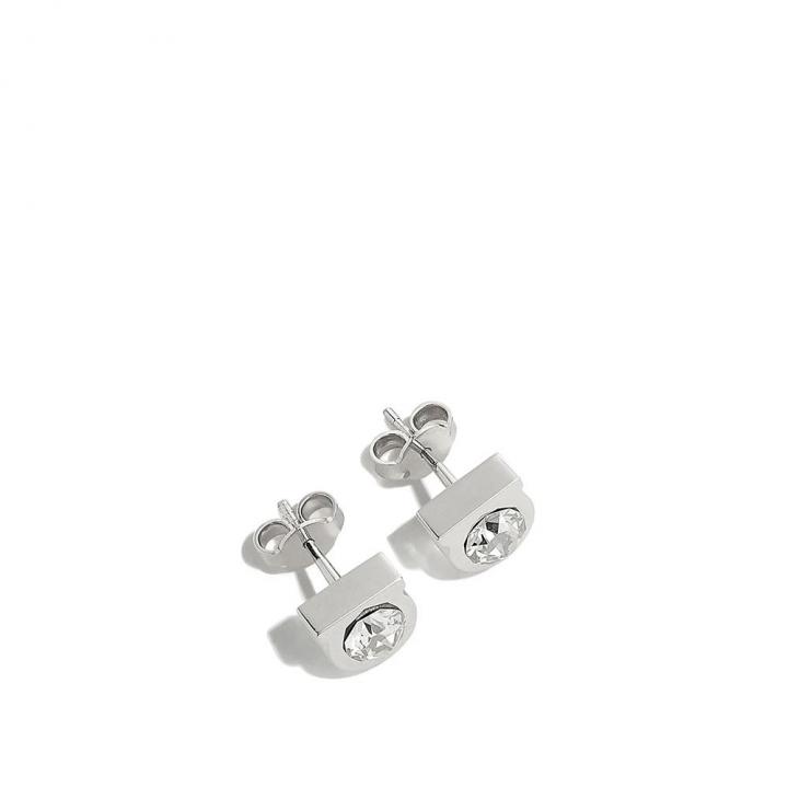 STUD 1 STRAS EarringGANCINI鑲鑽耳環