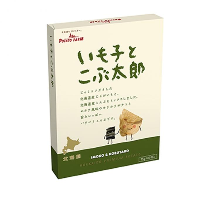 Potato ta and Konbu TaroCALBEE 北海道昆布洋芋片