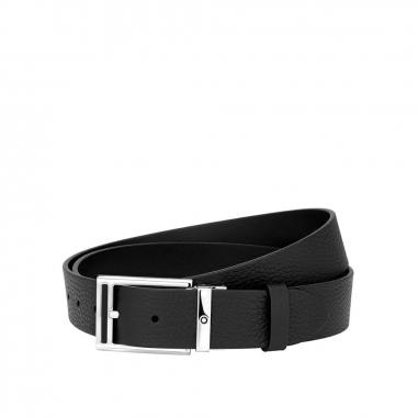 Montblanc萬寶龍(精品) 黑色可調尺寸休閒皮帶