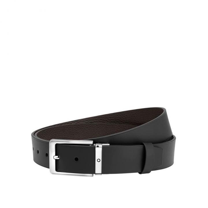 Black/brown reversible cut-to-size casual belt黑色/棕色可調尺寸休閒皮帶