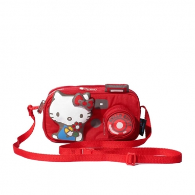 LeSportsac力士保 HELLO KITTY聯名款相機包