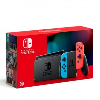 Nintendo任天堂 任天堂SWITCH主機 電光藍 電光紅