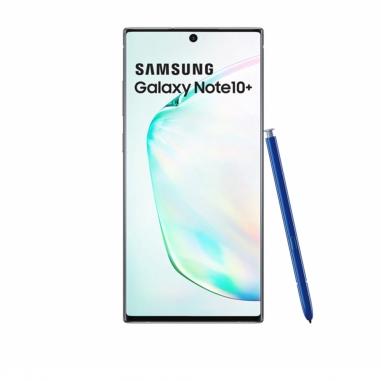SAMSUNG三星 《贈大禮包+送旅行夾鏈袋和保冰杯》Galaxy Note10+ 256G 手機 星環銀