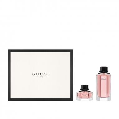 Gucci Makeup & Fragrance古馳 《聖誕限定》GUCCI FLORA 花之舞女性淡香水聖誕特惠組