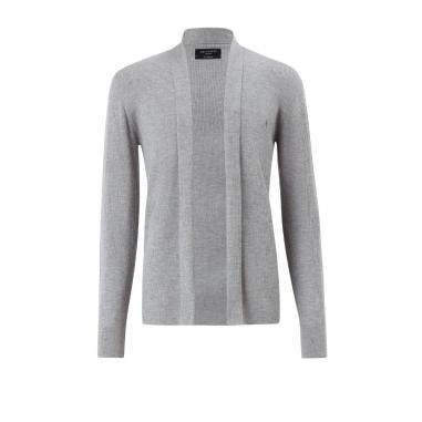 AllSaints歐聖 MODE MERINO羊毛開襟針織衫