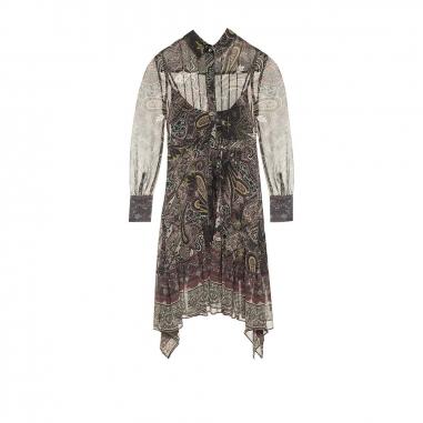 AllSaints歐聖 LIZZY SCARF 洋裝