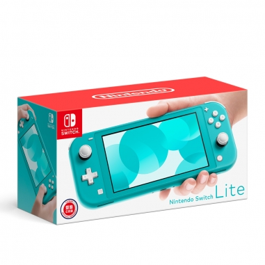 Nintendo任天堂 任天堂SWITCH lite主機 藍綠色