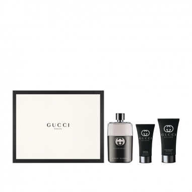 Gucci Makeup & Fragrance古馳 《聖誕限定》GUCCI GUILTY 罪愛男性淡香水聖誕特惠組