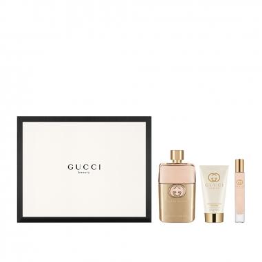 Gucci Makeup & Fragrance古馳 《聖誕限定》GUCCI GUILTY 罪愛女性淡香精聖誕特惠組