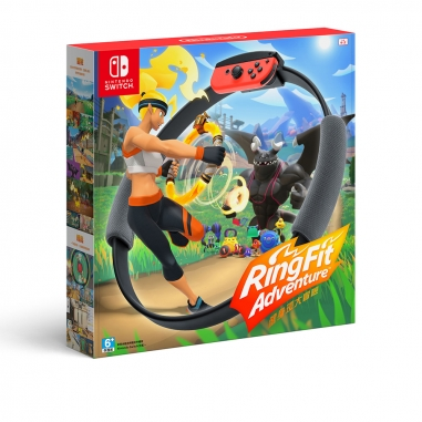 Nintendo任天堂 任天堂SWITCH 健身環大冒險 中文版