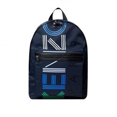 Kenzo凱卓 《6折+送旅行夾鏈袋和保冰杯》KENZO LOGO大型後背包
