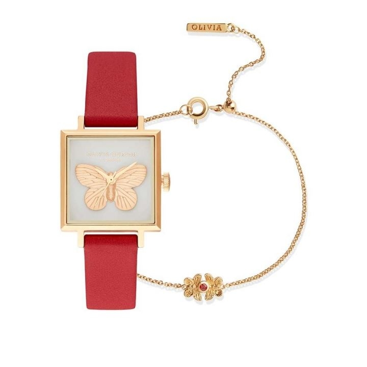 3D BUTTERFLY WATCH AND BRACELET3D BUTTERFLY手錶組