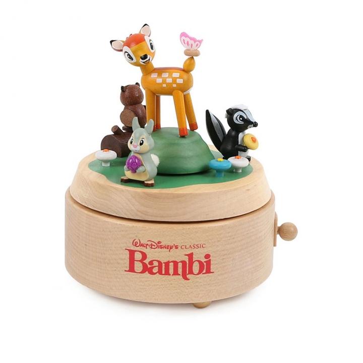 Clintons Disney Music box - Bambi迪士尼音樂鈴-小鹿斑比