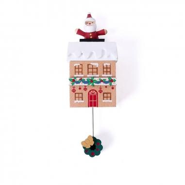 Jean Cultural知音文創 《聖誕限定》木趣味吸鐵擺飾-聖誕老人