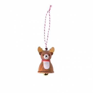 Jean Cultural知音文創 《聖誕限定》鈴鐺掛飾-聖誕糜鹿