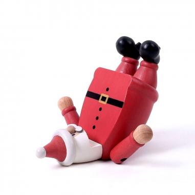 Jean Cultural知音文創 《聖誕限定》木質手機座-瑜珈聖誕老人