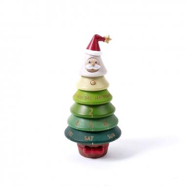 Jean Cultural知音文創 《聖誕限定》轉動萬年曆-聖誕樹老公公
