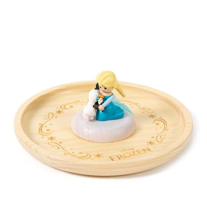 Wooden Organizer - Elsa and Olaf木製置物皿-艾莎雪寶