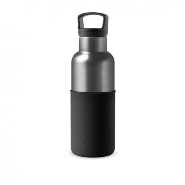 HYDY海迪 時尚保溫水瓶 鈦灰瓶墨黑