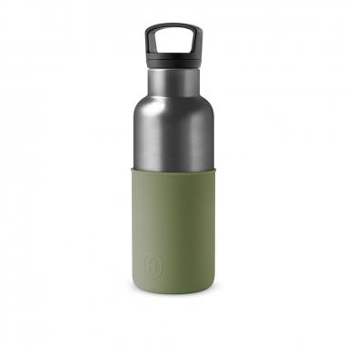 HYDY海迪 時尚保溫水瓶 鈦灰瓶軍綠