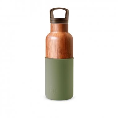 HYDY海迪 CinCin Deco 木紋瓶軍綠