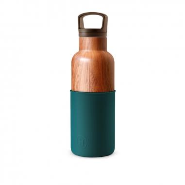 HYDY海迪 CinCin Deco 木紋瓶孔雀綠